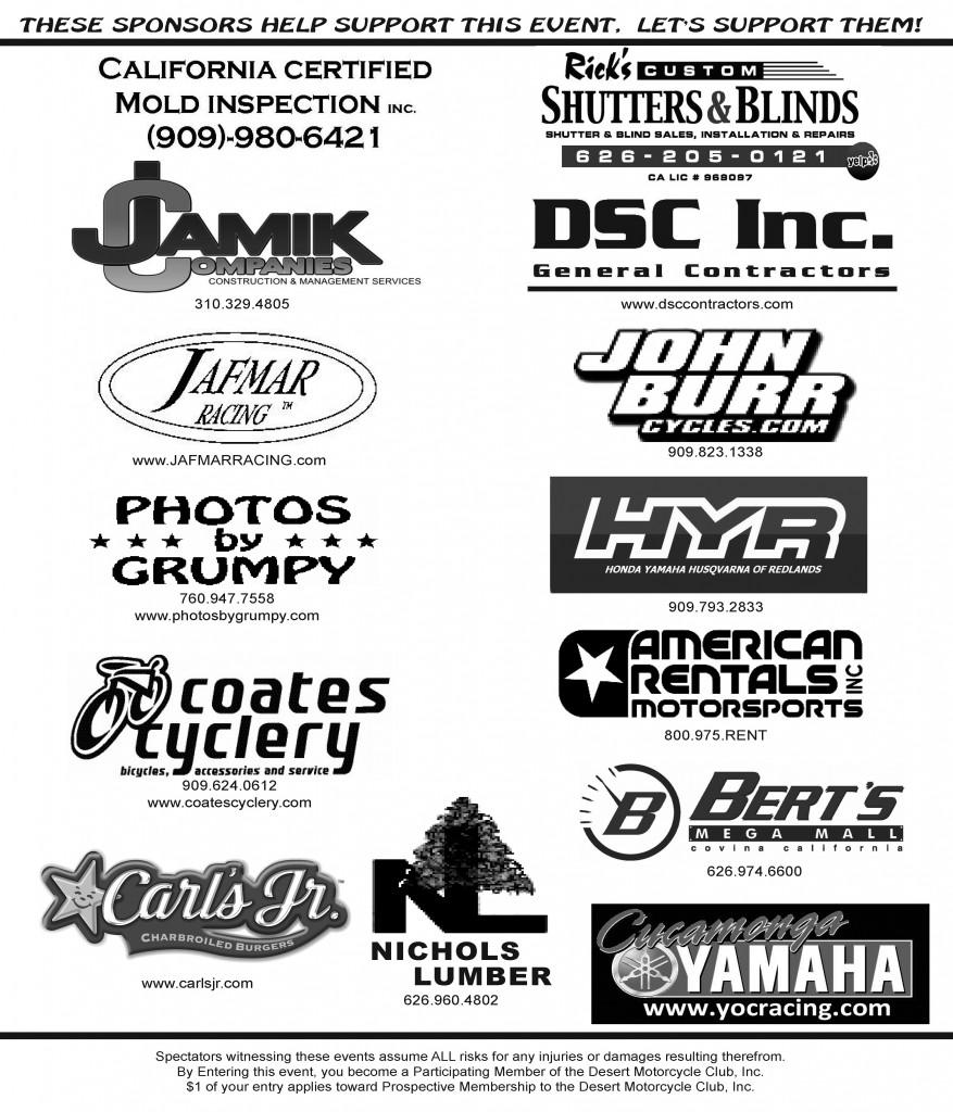 2016 DMC Sponsors